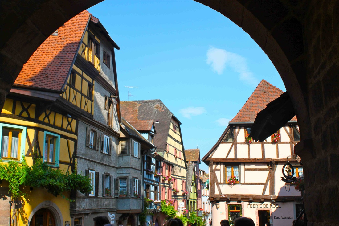 how to get from paris to riquewihr